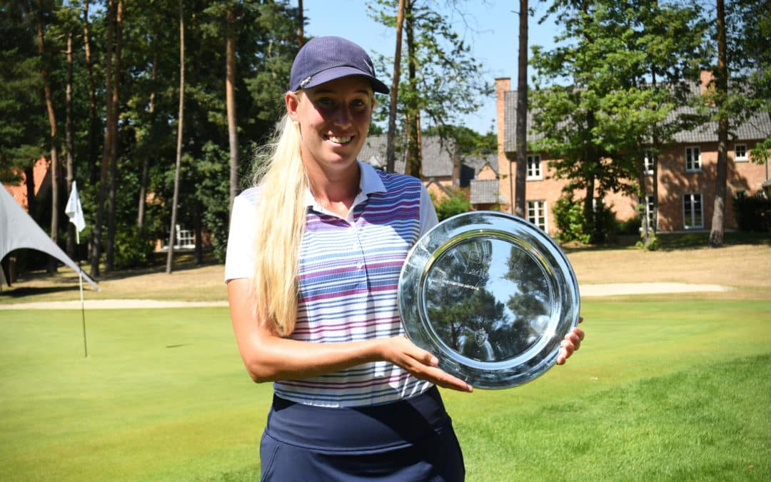 Emma Nilsson remporte la 2e édition du Belfius Ladies Open
