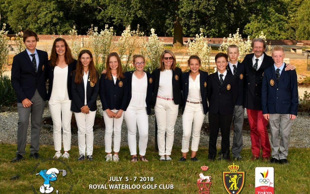 Réel succès au Belgian International Championship U14