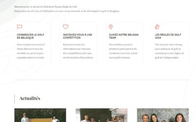 Nouveau site de la FRBG