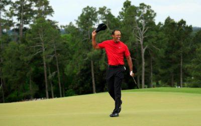 De comeback van Tiger Woods is compleet