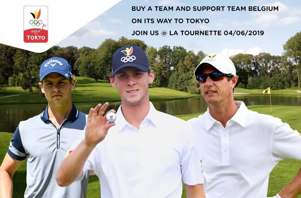 Golf to Tokyo: soutenez le Team Belgium dans sa préparation aux JO