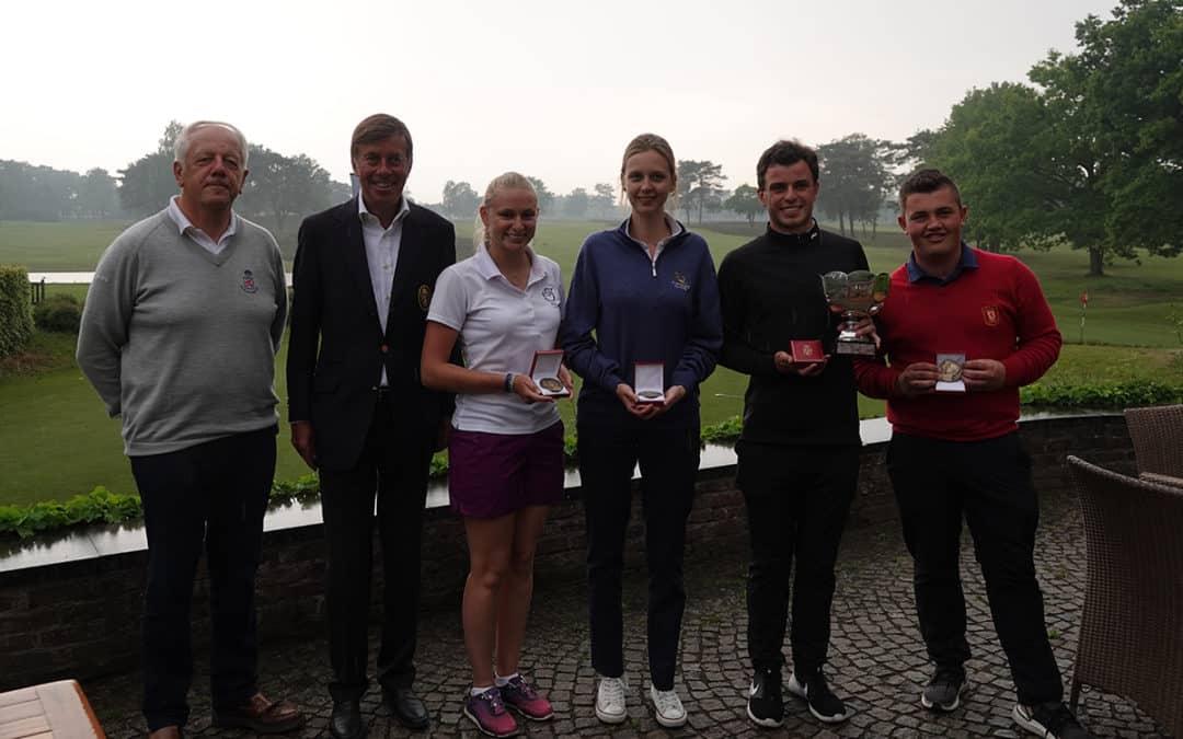 A. De Bondt & M. Vanmol hebben King's Prize gewonnen