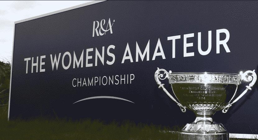 3 Belges au Womens Amateur Championship