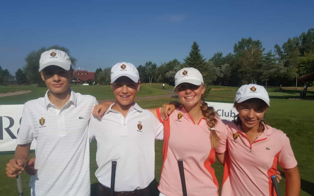 James Skeet & Cassiopée Oliviers aan de top in European Young Masters