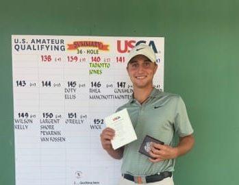 Giovanni Tadiotto à l'US Amateur cette semaine