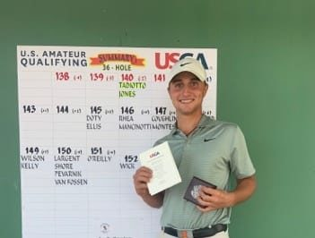 Giovanni Tadiotto aan de US Amateur