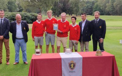 Waterloo & Rigenée champions des Interclubs Stroke Play