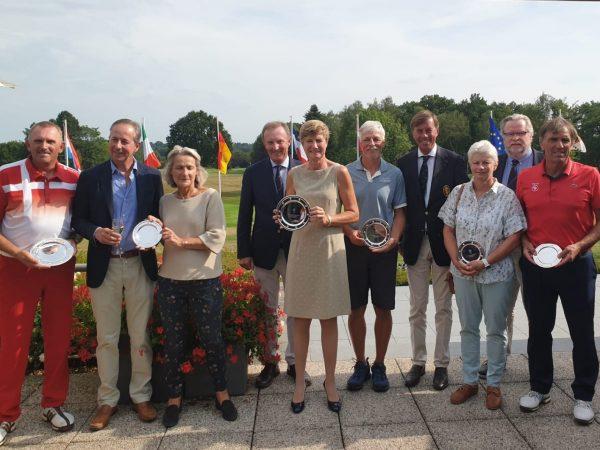 Sylvie Van Molle s'impose au Belgian International Senior Ch'ship