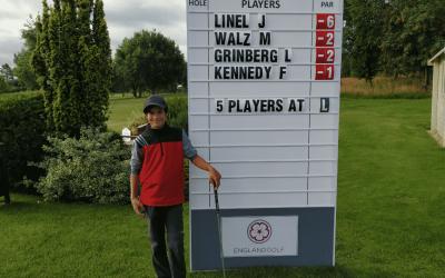 Lev Grinberg in Top 20 van English Boys' U14 Open Amateur