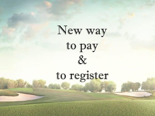 Paiements & Inscriptions via I-golf