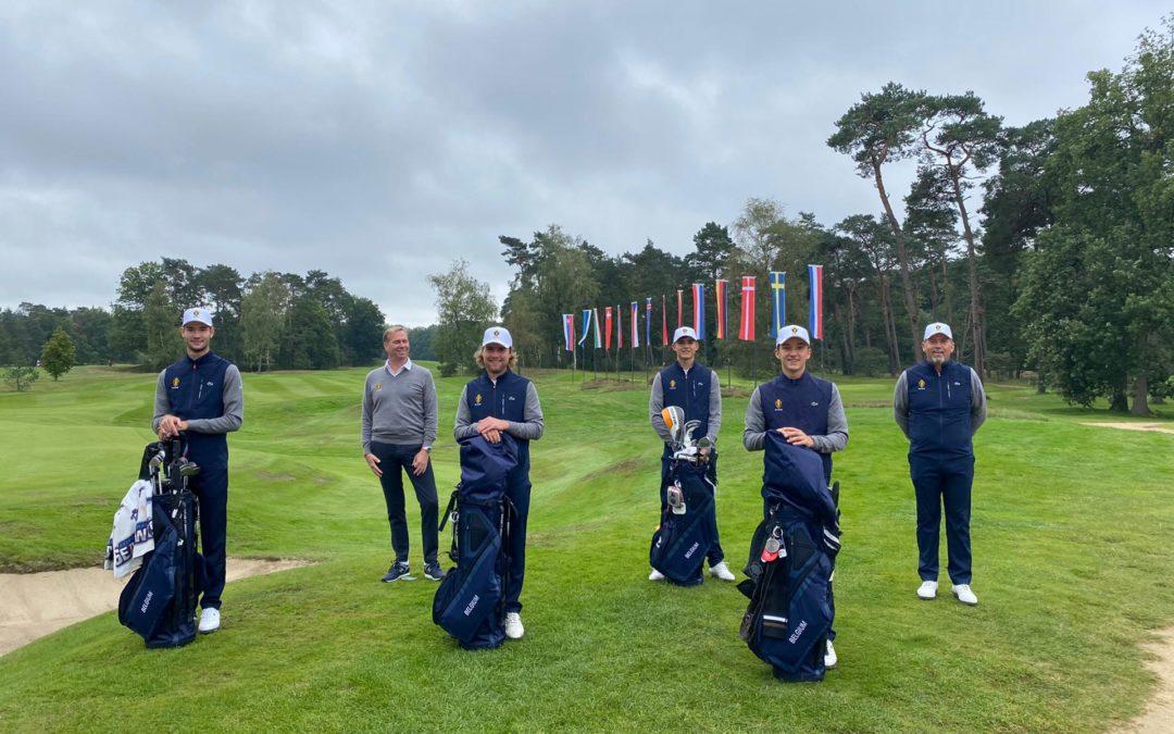 Men en Ladies in actie op de Europese kampioenschappen