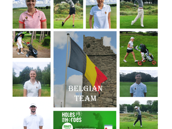 L'équipe belge soutient la Croix-Rouge