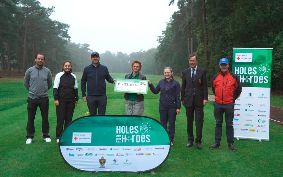Holes for Heroes – €233.307!