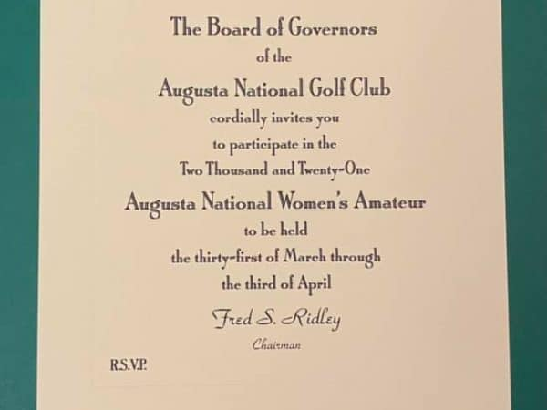 Clarisse Louis – The Augusta National Women's Amateur