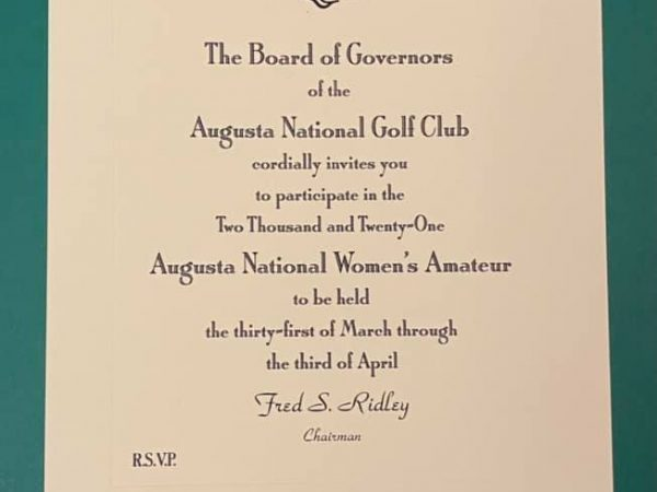 Clarisse Louis – The Augusta National Women's Amateur
